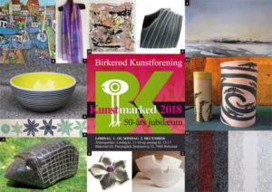 Julemarked 2018 i Birkerød Kunstforening 1.-2. december